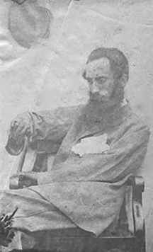 The only known photograph of Thomas Machell