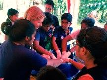 Galle - children's indigo workshop