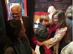 Felix Balfour charms Ruby and Farhad Ghaznavi