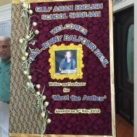 'Meet the author', Gulf Asian School